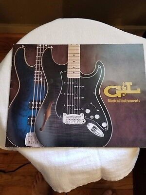 G&L Guitar and Bass Vintage Brochure