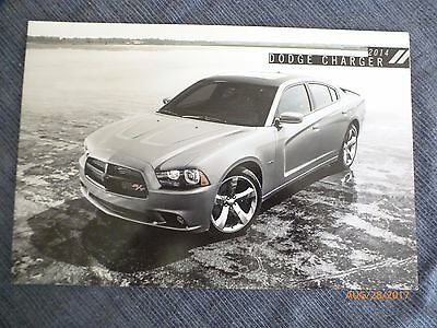 2014 Dodge Charger Dealer Brochure Mopar