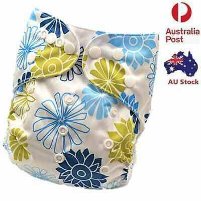 Modern Cloth Nappies Baby Boy Boyish MCN Diaper One-Size-Fits-Most Nappy (D207)