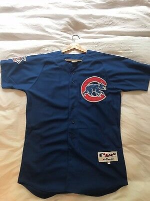 Majestic ALFONSO SORIANO Chicago Cubs Away Jersey Sewn - Men's Size 48