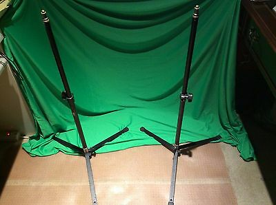 2x Manfrotto Mini Backlite Stand 003M with 3368 Poles