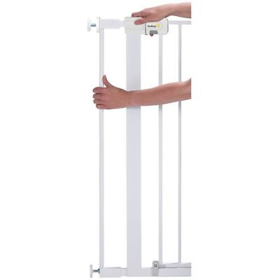 Safety 1st Safety Gate Extension Baby Pet Security 7x91 cm White Steel 24254310