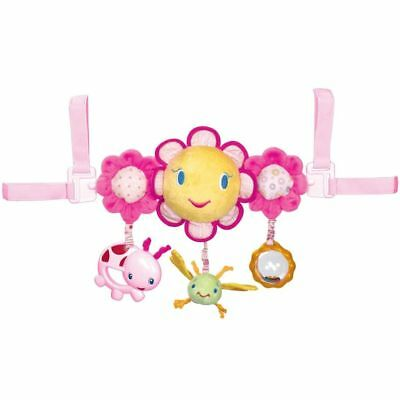 Bright Starts Musical Carrier Activity Toy Bar Mobile Pretty in Pink Pink K8676