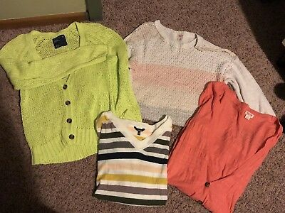 Lot Of Womens/Teens Sweaters - Size Large - Varying Brands