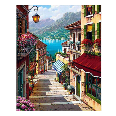 Oil paint painting by numbers diy picture drawing coloring on canvas painti G6J2
