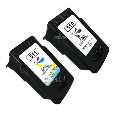 Ink Cartridge for Canon PG 510 Black CL 511 Color iP2700 MP230 MP240 MP250