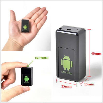 mini GPS spy camera tracking positioning recorder GSM network super long standby