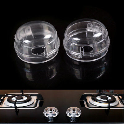 Kids Safety 2Pcs Home Kitchen Stove And Oven Knob Cover Protection LD