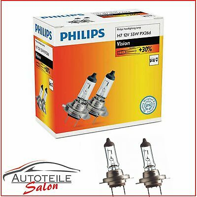 1x Philips Vision H7 Halogenlampe 12972PRC2 Doppelpack SET Duo 2x H7 r