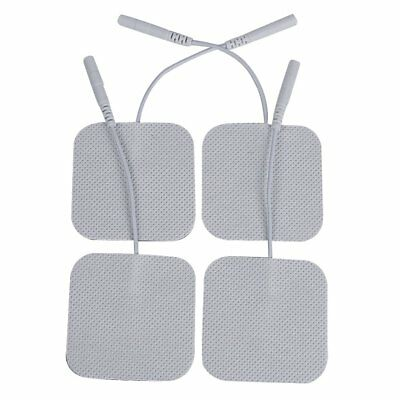 16pack Self-Adhesive Reusable TENS Electrodes Pads for EMS Massage Device 5X5cm