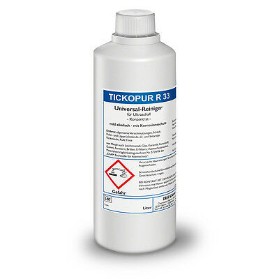 tickopur R 33 universal-reiniger for Ultrasound 1 ltr. Cleaning Concentrate