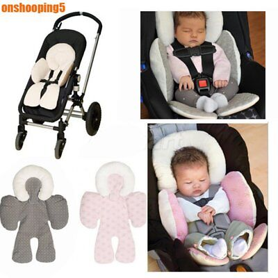 Newborn Baby Car Seat Stroller Cushion Pad Liner Mat Head Body Support Pillow PI