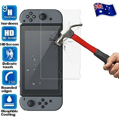 2 X *Pack Nintendo Switch Tempered Glass Screen Protector for Nintendo Switch AU