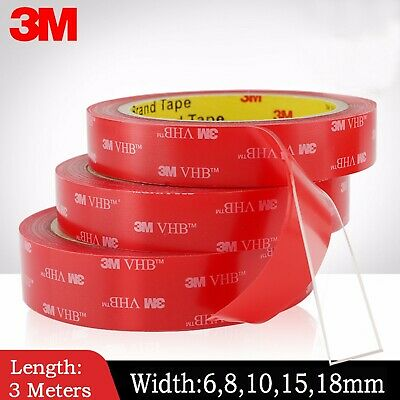 3M VHb car double-sided double accessories transparent acrylic adhesive tape AU