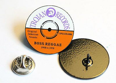 Trojan Records Boss Reggae Pin (Mba 495)
