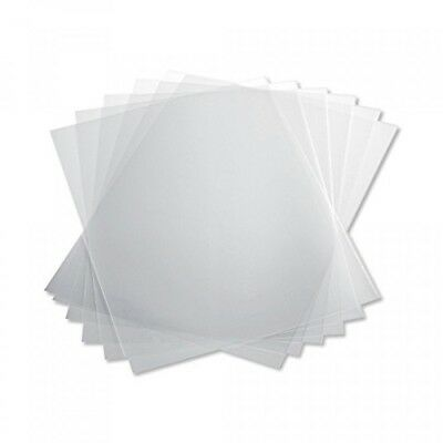 TruBind 10 Mil 81/2 x 11 Inches PVC Binding Covers Pack of 100, Clear