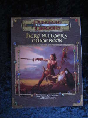 Dungeons and Dragons D&D Hero Builder's Guidebook