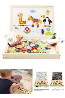 Wooden Educational Toys Animals Puzzle Game Intellectual Developmental Toy Gift