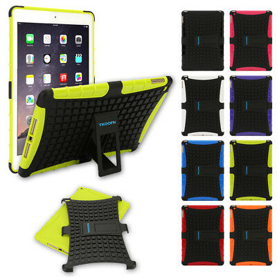 Shockproof Heavy Duty Military Stand Case Cover for Apple iPad 2 3 4 Mini Air 2