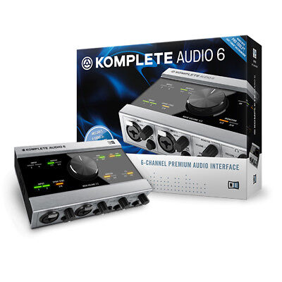 Native instruments Komplete Audio 6 Scheda Audio USB, DJ e Producer MIDI in/out