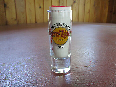 Hard Rock Cafe Save Our Planet Maui Shotglass
