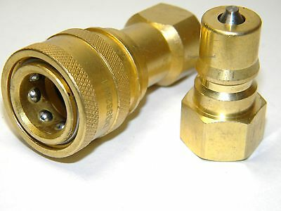 "Carpet Cleaning - Brass 1/4"" Quick Disconnect for Wand, Hoses"