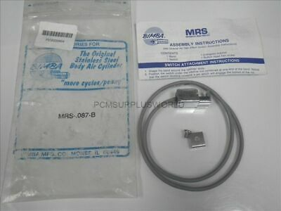 MRS-.087-B MRS087B Bimba Magnetic Reed Switch (New in Bag)