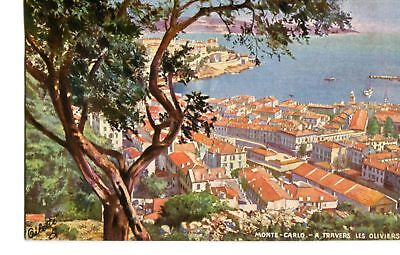 Monte Carlo - A Travers Les Oliviers 1911