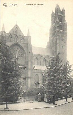 carte postale -Bruges - Cathedrale Saint Sauveur