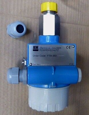 Endress Hauser FTW 360 - G1XGD1 Compact Pump Protector Conductive Detection