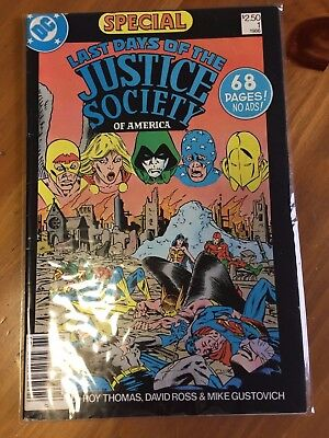 Last Days of the Justice Society Special #1 (1986, DC)