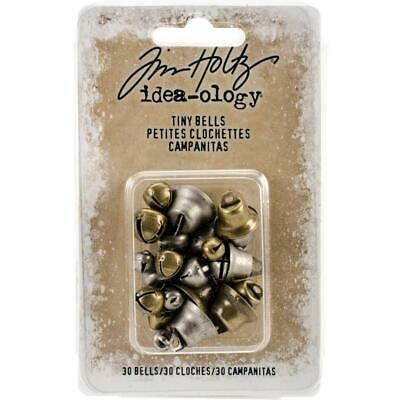 Tim Holtz Idea-Ology - Tiny Metal Bells
