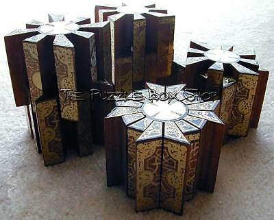 hellraiser working puzzle box painted movable star configuration 3d