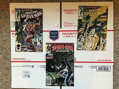 Amazing Spider-Man #293 & #294 Spectacular Spider-Man #131 Kraven's Last Hunt!