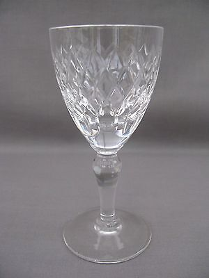 A Royal Brierley Crystal Cut Glass Sherry Glass in the Coventry pattern (5)