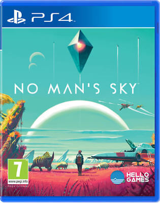 PS4 No Mans Sky Playstation 4 Game BRAND NEW SEALED