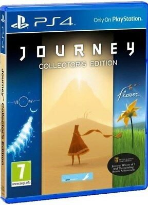 PS4 Journey Collectors Edition Playstation 4 Game BRAND NEW SEALED