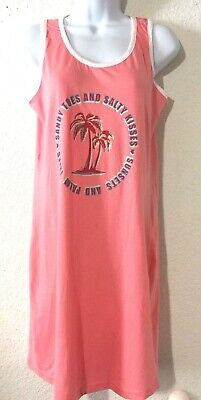 Womens sandy toes and salty kisses womens dress Size S Sleeveless