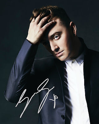 Sam Smith #1 10X8 Pre Printed (Signed) Lab Quality Photo Reprint - Free Del