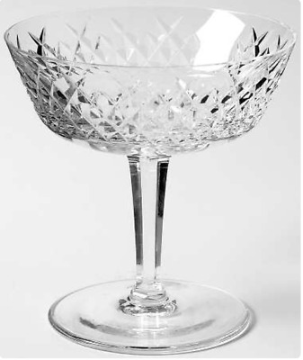 Set of 12 Waterford Crystal ''Alana'' Champagnes/Tall Sherbets