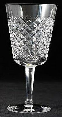 Set of 12 Waterford Crystal ''Alana'' Water Goblets