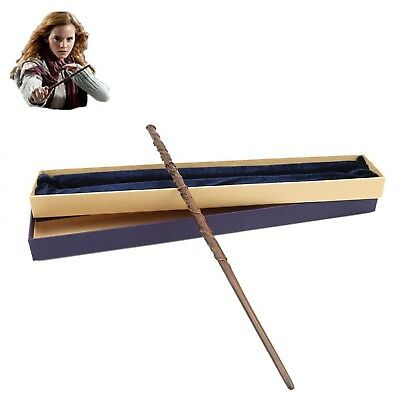 Harry Potter Magic Wand Metal Core Hermione Granger Magical Stick Gift Box Pack
