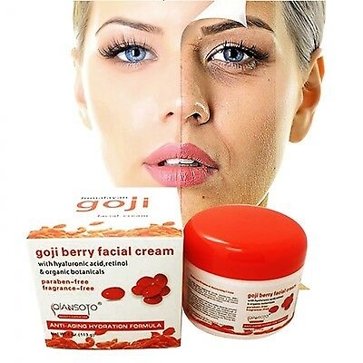 Goji Nourishing Facial Cream Anti Wrinkle Cream AntiAging and Firming Face Cream