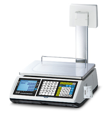 Shop Scale Calibrated, Price Computing Scale with High Display 6/15KG