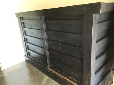 Antique Japanese storehouse chest Original1800's
