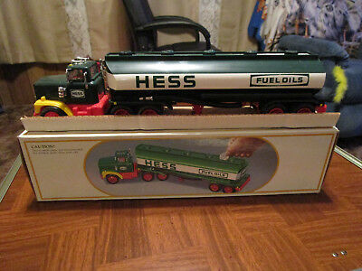 1984 Hess Toy Truck Bank
