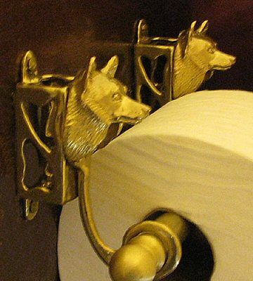 SCHIPPERKE Bronze Toilet Paper Holder OR Paper Towel Holder!