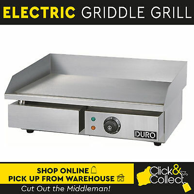 Duro Electric Griddle 3000W Hot Plate Grill w/ Smooth Stainless Steel BBQ
