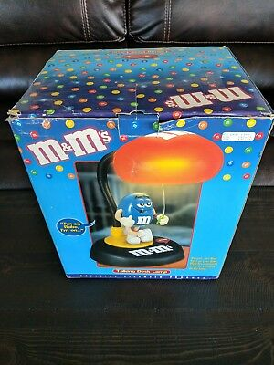 M&M's Collectible Talking Animated Lighted Desk Lamp 841.384 Brand New Retired