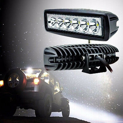 18W LED Light Outdoor Work Bar Party Car Driving Fog Lamp Auto Truck Accessories